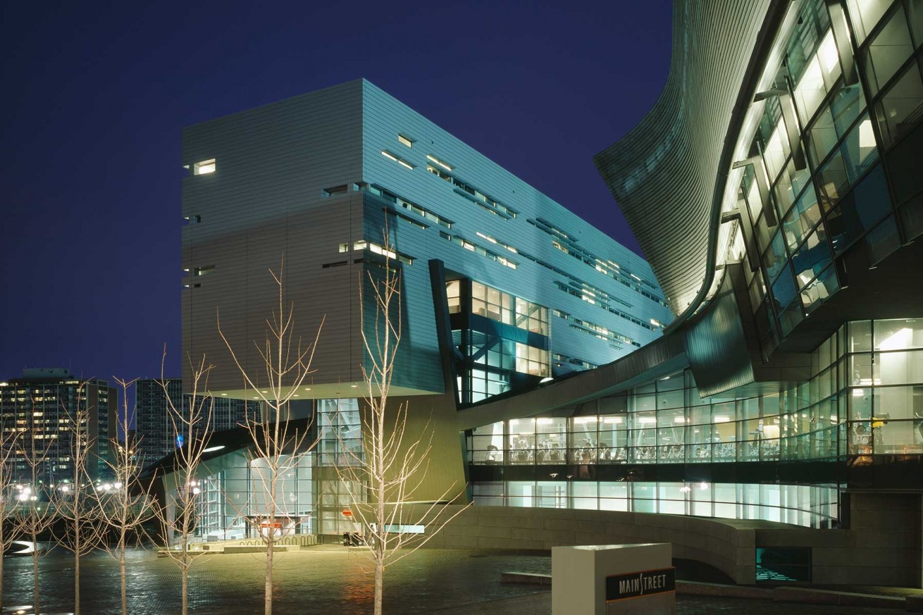 University Of Cincinnati Campus Recreation Center Horton Lees Brogden Lighting Design