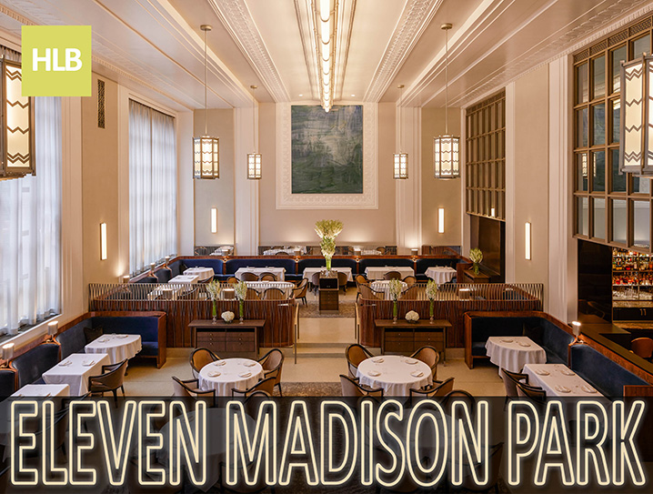 Light And Luxe Spark The Reopening Of Eleven Madison Park Horton Lees Brogden Lighting Design