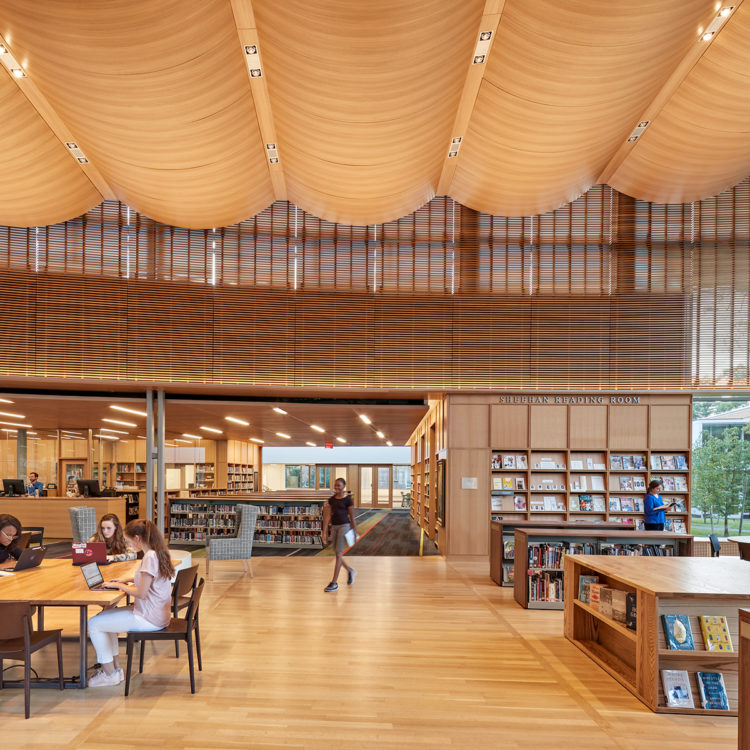 Designs Science Center: Noble & Greenough School Science Center & Library